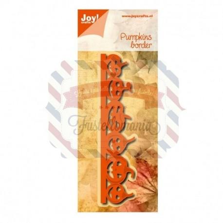Fustella metallica Joy! Crafts Pumpkins Border