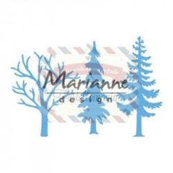 Fustella metallica Marianne Design Creatables Forest trees