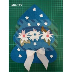 Fustella XL Albero stelle e stella alpina