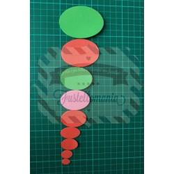 Fustella M Ovali 9 misure
