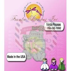 Fustella metallica Fairytale Princesses