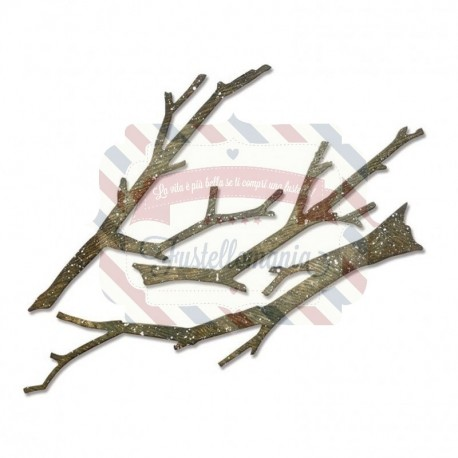 Fustella Sizzix Bigz Branches