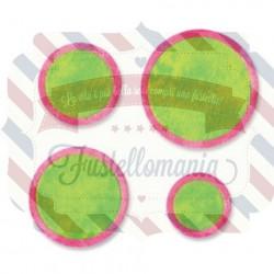 Fustella Sizzix Originals Circle frames