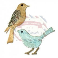 Fustella Sizzix Bigz Birds