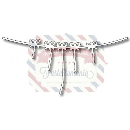Fustella metallica Bandiera di corda