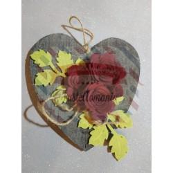 Fustella XL Rosa e ramo