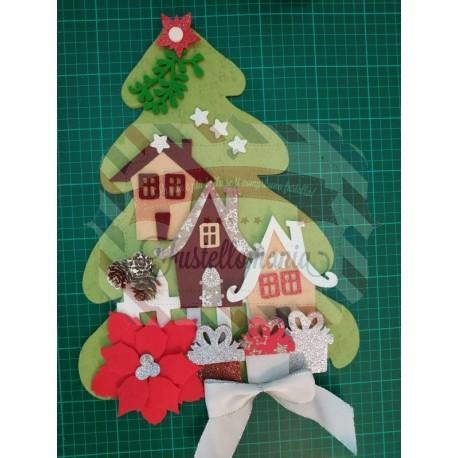 Fustella XL Albero di Natale e regali