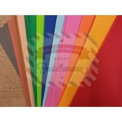 Fommy 2 mm foglio singolo A4 colori assortiti