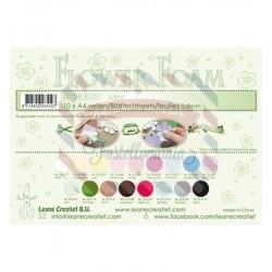 Fommy Leane Creatief per fiori 0,8 mm in fogli A4 10 pezzi colore Mint