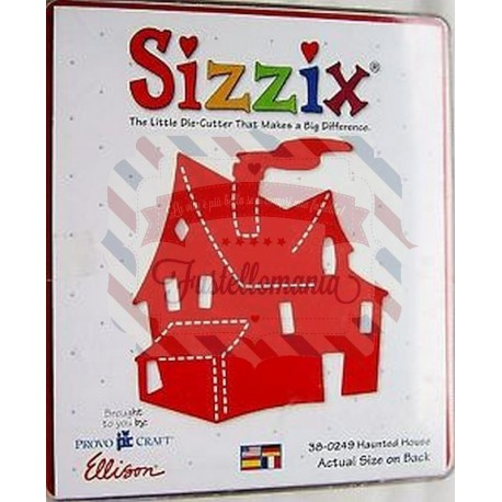 Fustella Sizzix Bigz Casa dei fantasmi