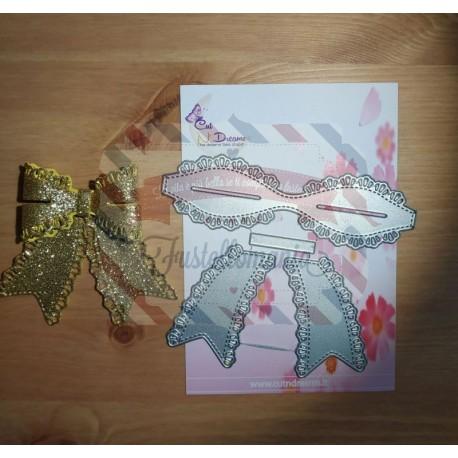 Fustella metallica Fiocco grande decorato