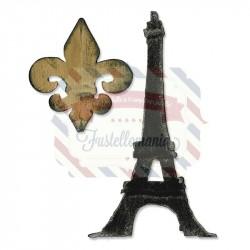 Fustella Sizzix Bigz Alterations Torre Eiffel