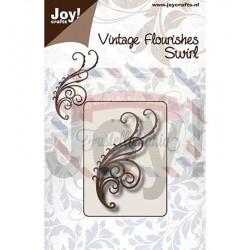 Fustella metallica Joy! Crafts Swirl