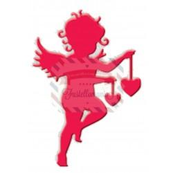 Fustella metallica Cupido con cuori