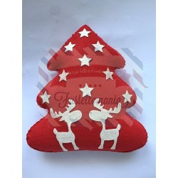 Fustella L Albero di Natale con renna e stella