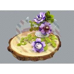 Fustella M Vine e fiore
