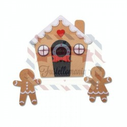 Fustella Sizzix A4 Gingerbread House