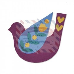 Fustella Sizzix Bigz Folk Bird