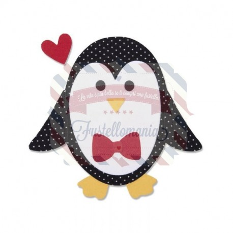 Fustella Sizzix Bigz Penguin 2