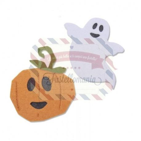 Fustella Sizzix Bigz Happy Halloween