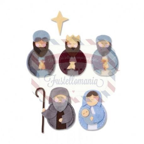 Fustella Sizzix BIGZ L Sweet Nativity