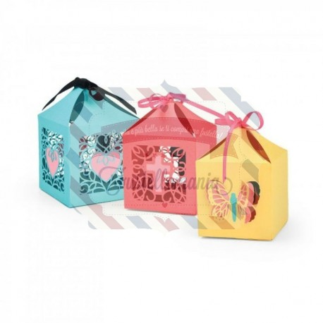 Fustella Sizzix Thinlits Butterflies and cross box special edition