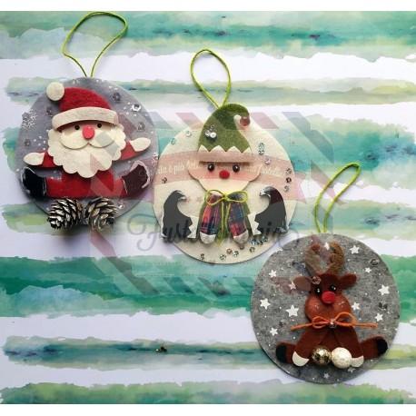 Immagini Palline Natalizie.Fustella L Decorazioni Natalizie Per Palline Di Natale