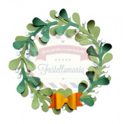 Fustella Sizzix A4 Christmas Wreath