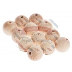 Palline di legno 30 mm. 6 pezzi