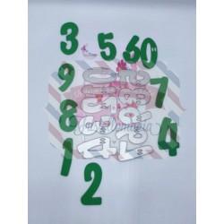 Fustella metallica Numeri sfiziosi