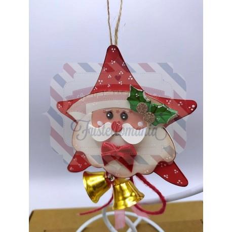 Fustella M Stella di Babbo Natale