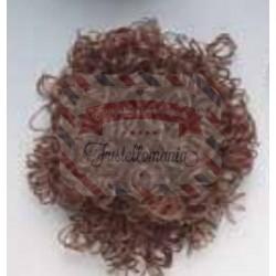 Capelli sintetici 15 gr marrone