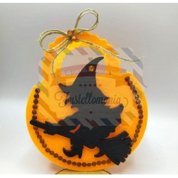 Fustella M Strega di Halloween