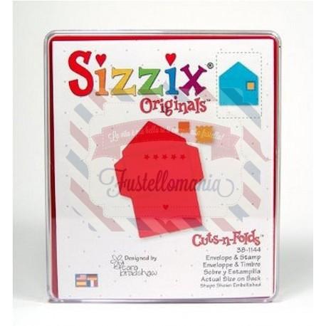 Fustella Sizzix Bigz Busta e francobollo