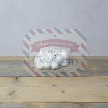 Palline di polistirolo 100 mm. 10 pezzi