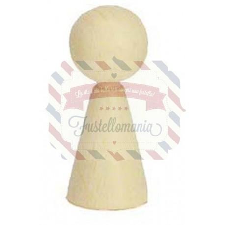 Corpo in legno per creare pupazzetti 20x50 mm 3 pezzi