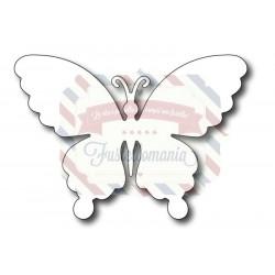 Fustella metallica Farfalla piena