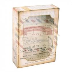 Fustella Sizzix BIGz XL Cuorio box con framelits by Tim Holtz