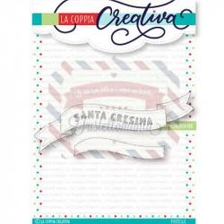 Fustella metallica Santa Cresima Banner