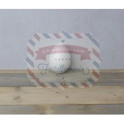 Uova di polistirolo 2 parti 16 cm