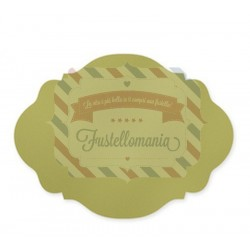 Fustella Sizzix Bigz Stampin Up Clear oval accent