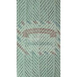Tubolare barré colore verde salvia 50 cm