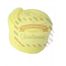 Tubolare mini colore giallo 3,5x100 cm