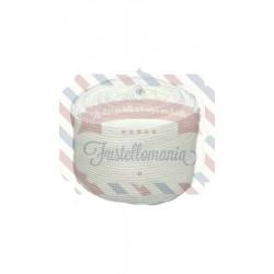 Tubolare mini colore latte 3,5x100 cm