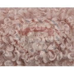 Nastro peluche riccio colore rosa 2 mt x 22 cm