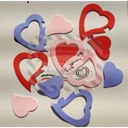 Fustella M Cuore puzzle