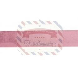 Nastro Velvet colore rosa 1 metro x 4 cm