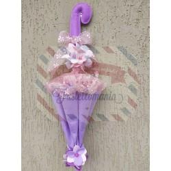 Fustella L Ombrellino profumatore con fiore