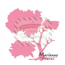 Fustella metallica Marianne Design Collectables tree