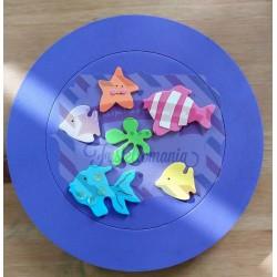Fustella M Pesciolini e stella marina